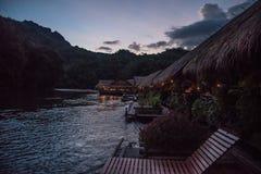 Гостиница на реке Kwai Стоковое фото RF