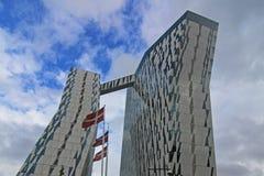 Гостиница неба Bella в Копенгагене, Дании Стоковые Изображения