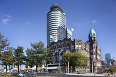 Гостиница Нью-Йорк в Роттердаме стоковые фото