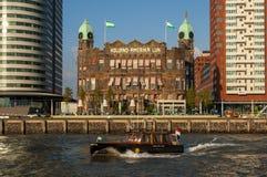 Гостиница Нью-Йорк в Роттердаме, Нидерландах стоковые фотографии rf