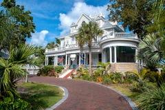Гостиница особняка карри Амстердама в Key West стоковые фотографии rf