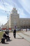 Гостиница Пекин триумфальная квадратная Москва стоковое изображение