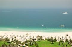 гостиница пляжа роскошная Стоковые Изображения RF