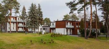 Гостиница полесья - здание стоковое изображение