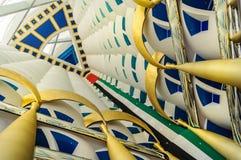 Гостиница, приемная и зала al-араба Burj в Дубай, ОАЭ иллюстрация вектора