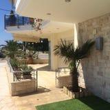 Гостиница пляжа стоковое фото rf