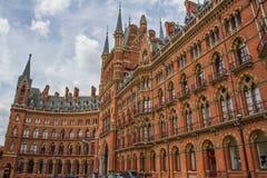 Гостиница ренессанса St Pancras стоковые фотографии rf