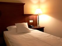 гостиница спальни Стоковое Изображение
