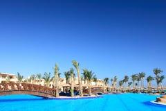гостиница тропическая Стоковая Фотография