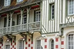 Гостиница Франции, Нормандии Barriere в Deauville Стоковое Изображение RF
