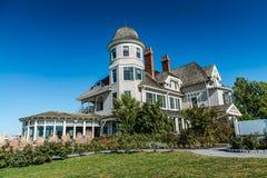 Гостиница холма замка - Ньюпорт, RI стоковое фото rf