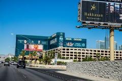 Гостиница Эм-Джи-Эм Гранда и казино Лас-Вегас Невада Стоковое Изображение