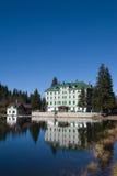 гостиница alps стоковая фотография rf