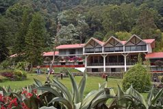 Гостиница Bambito - гористые местности Панамы стоковое фото rf