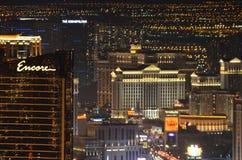 Гостиница Bellagio и казино, Лас-Вегас, Лас-Вегас, район метрополитена, метрополия, городской пейзаж, горизонт стоковое изображение rf