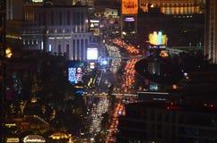 Гостиница Bellagio и казино, район метрополитена, метрополия, ноча, город стоковая фотография rf