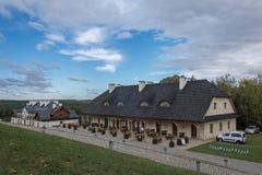 Гостиница Bobolice замка Стоковое фото RF