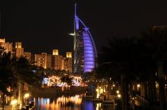 гостиница burj al арабская стоковые изображения