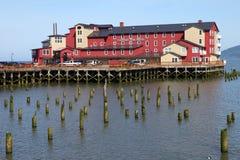 гостиница cannery astoria старая Стоковое фото RF