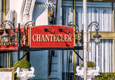 Гостиница Chantecler Negresco славная стоковое изображение rf