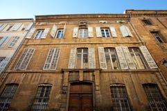 Гостиница de Barlet (около XVIII C.). AIX-en-Провансаль, Франция Стоковая Фотография