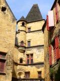 Гостиница de Maleville, Sarlat-la-Caneda (Франция) Стоковое Изображение