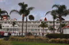 Гостиница del Coronado в Калифорнии Стоковая Фотография