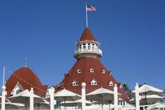 Гостиница Del Coronado стоковое изображение