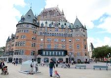 Гостиница Frontenac замка Стоковое Фото