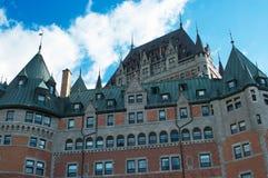 Гостиница Frontenac замка Стоковая Фотография RF