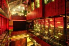 Гостиница Hall архитектуры Гуанчжоу стоковая фотография rf