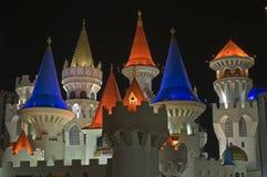 гостиница Las Vegas excalibur казино стоковые изображения rf