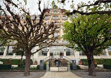Гостиница Luzern дворца, построенная между 1904 и 1906 luzern Швейцария Стоковое фото RF