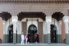 Гостиница Marrakesh Mamounia Ла входа Стоковые Фотографии RF