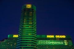 Гостиница MGM в Лас-Вегас Стоковое Изображение RF
