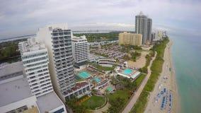 Гостиница Miami Beach 4k Фонтенбло сток-видео