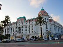 Гостиница Negresco в славном Стоковые Изображения