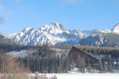 Гостиница Patria, Strbske Pleso в высоком Tatras Словакии Стоковые Фотографии RF