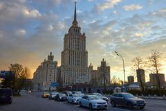 Гостиница Radisson королевская, Москва стоковое изображение