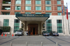 Гостиница Ritz-Carlton стоковое изображение