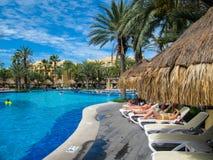 Гостиница RIU Санта-Фе на Cabo San Lucas, Мексике Стоковая Фотография RF