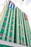 Гостиница Santa Clara Libre в парке Leoncio Vidal Santa Clara, Стоковое Изображение