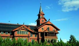 Гостиница Scandic Holmenkollen, Осло, Норвегия Стоковые Изображения RF