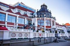 Гостиница Sheraton Sopot стоковые фотографии rf