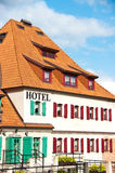 гостиница shutters белизна Стоковые Изображения RF