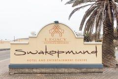 Гостиница Swakopmund, казино и развлечения Cente Стоковое Фото