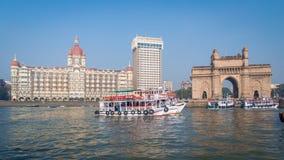 Гостиница Taj и ворот Индии Стоковые Изображения RF