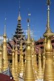 Гостиница Thein - Ithein - озеро Shwe Inle - Myanmar Стоковое Изображение RF