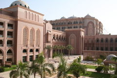 гостиница UAE Abu Dhabi Стоковые Фото
