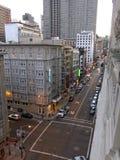 Гостиница Warwick на улице Сан-Франциско Geary стоковая фотография rf